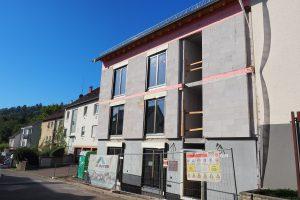 M. BAYER Baukoordination - Neubauprojekt Stuttgart-Wangen - Ansicht Straße