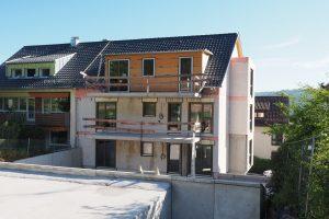 M. BAYER Baukoordination - Neubauprojekt Stuttgart-Wangen - Ansicht Gartenseite 3