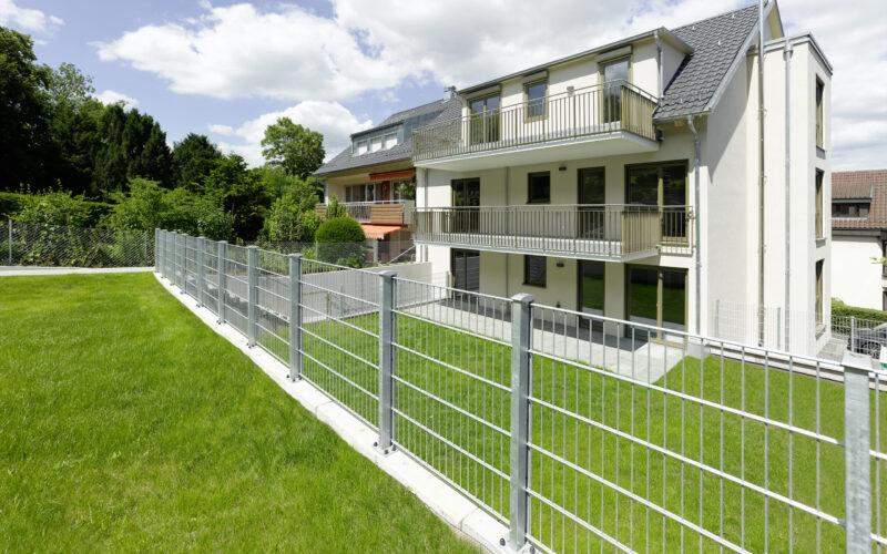 M. BAYER Baukoordination - Neubauprojekt Stuttgart-Wangen - Gartenansicht