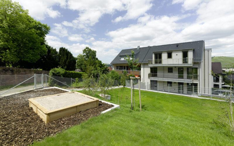 M. BAYER Baukoordination - Neubauprojekt Stuttgart-Wangen - Ansicht vom Garten
