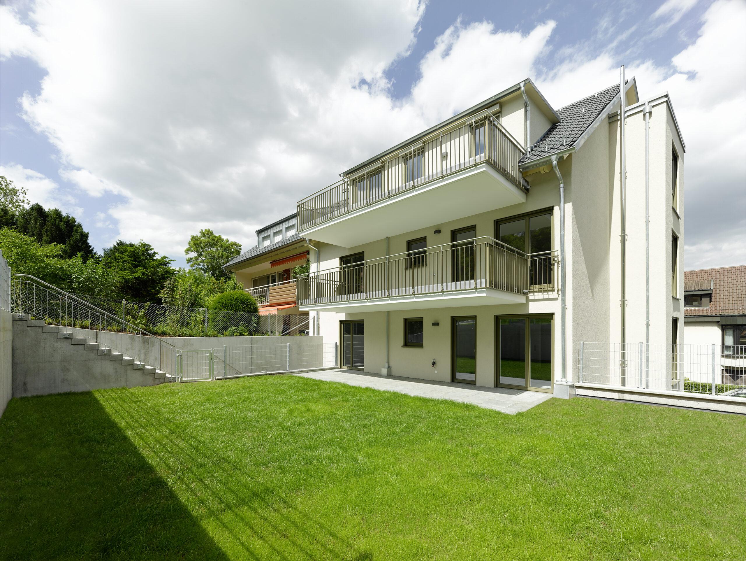 M. BAYER Baukoordination - Neubauprojekt Stuttgart-Wangen - Ansicht Gartenwohnung