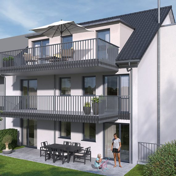 Neubauprojekt Mehrfamilienhaus Eigentumswohnungen Stuttgart