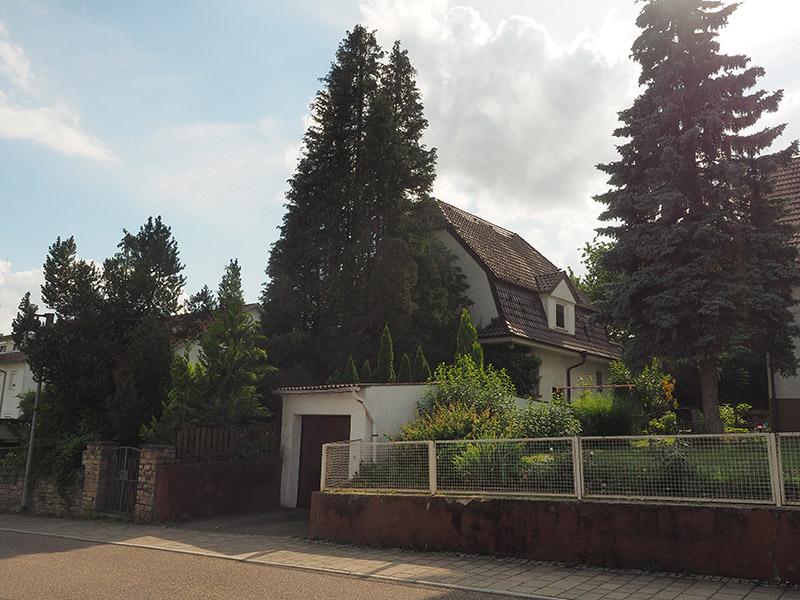 M. BAYER Baukoordination: Das Neubauprojekt Altbach entsteht auf einem leerstehenden Grundstück mit Einfamilienhauses