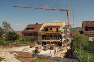 M. BAYER Baukoordination Eigentumswohnungen in Stuttgart-Wangen: Die Ansicht vom Garten