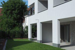 M. BAYER Baukoordination: Neubau Deizisau - Rückansicht