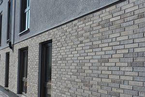 M. BAYER Baukoordination: Neubau Deizisau - Klinkerfassade und Hauswand