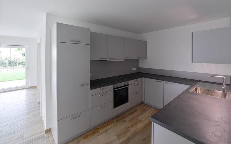 M. Bayer Baukoordination Neubau Deizisau Ausstattungsbeispiel Küche