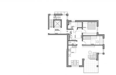 Grundriss Eigentumswohnung 3 Altbach