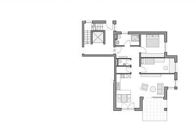 Grundriss Eigentumswohnung 1 Altbach