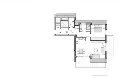Grundriss Eigentumswohnung 5 Altbach