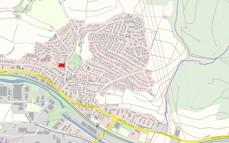 Lage Mehrfamilienhaus Altbach