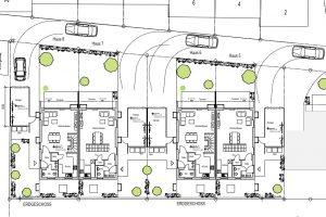 Lage Erdgeschoss, Neubauprojekt Deizisau Ob der Steige M. Bayer Baukoordination