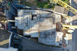 M. BAYER Baukoordination: Rohbauarbeiten beim Mehrfamilienhaus in Altbach